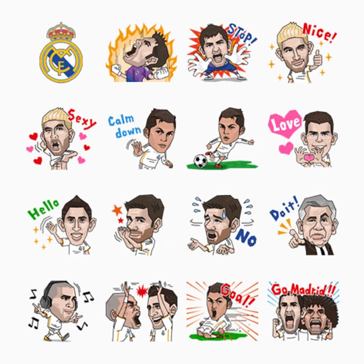 line real madrid